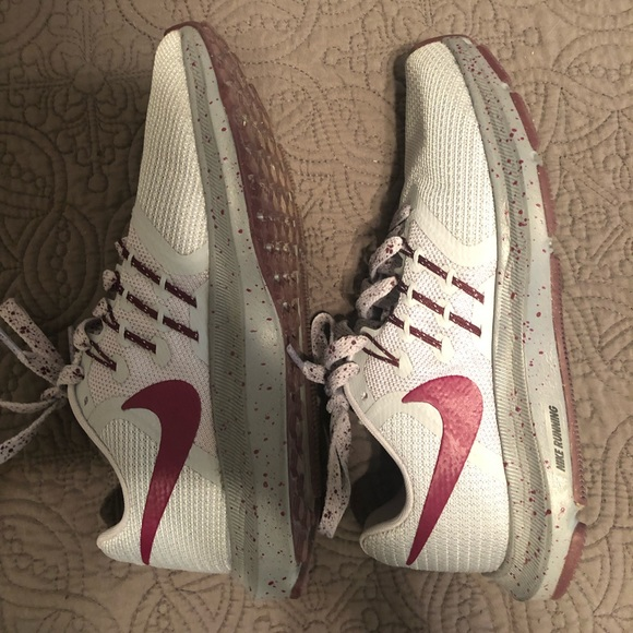 Nike Shoes - Nike athletic shoes. Size 5. Barely worn.
